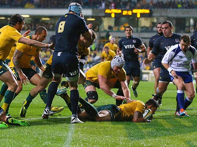 Result: Australia hold on to beat Argentina