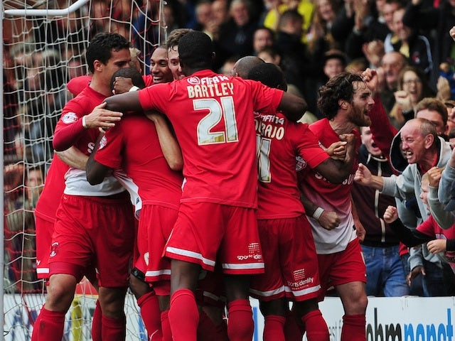 Result: Orient edge past Rotherham