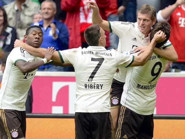 Result: Bayern ease to home win