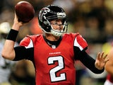 Falcons QB Matt Ryan in action against the Saints on September 8, 2013