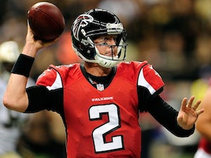 Half-Time Report: Falcons lead by 14 at the break