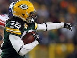Packers safety Morgan Burnett in action against the New York Giants on January 15, 2012