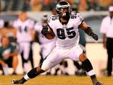 Philadelphia Eagles' Mychal Kendricks in action during the game against Carolina Panthers on August 15, 2013
