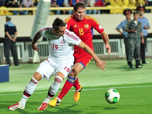 Result: Denmark earn vital win over Armenia