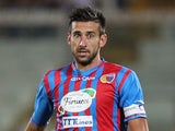 Catania captain Nicolas Spolli in action against Inter Milan on September 1, 2013