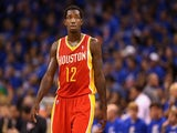 Rockets guard Patrick Beverley in action against the Thunder on May 1, 2013