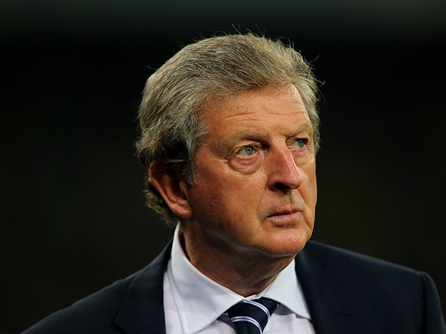 England manager Roy Hodgson prior to kick-off in the World Cup qualifier against Ukraine on September 10, 2013