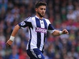 West Brom's Shane Long in action against Southampton on August 17, 2013