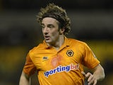 Wolves' Stephen Hunt in action against Watford on March 1, 2013