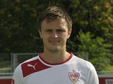 VfB Stuttgart's Danish midfielder William Kvist poses during a photo call of the German first division Bundesliga football team in Stuttgart, southwestern Germany, on August 2, 2012