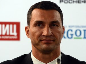 Klitschko's previous fights in the United States