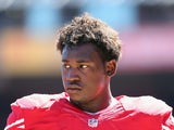 49ers linebacker Aldon Smith in action against Green Bay on September 8, 2013