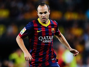 Iniesta, Xavi, Tello return for Barcelona