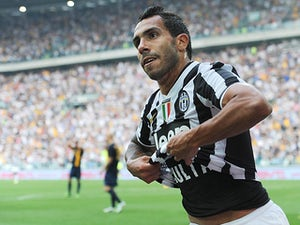 Half-Time Report: Tevez, Pogba give Juve control in Florence