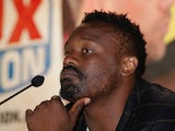 Dereck Chisora during a press conference on July 30, 2013