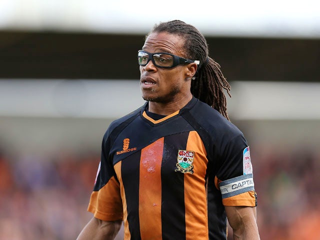 Edgar Davids of Barnet in action during the npower league Two match between Northampton Town and Barnet at Sixfields Stadium on April 27, 2013