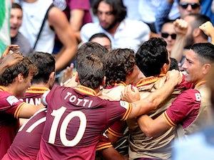 Balzaretti strikes as Roma edge Lazio
