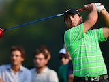 Francesco Molinari in action during day two of the Italian Open on September 20, 2013