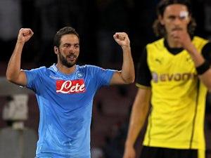 Team News: Higuain returns for Napoli