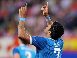 Team News: Hulk starts against former club Porto
