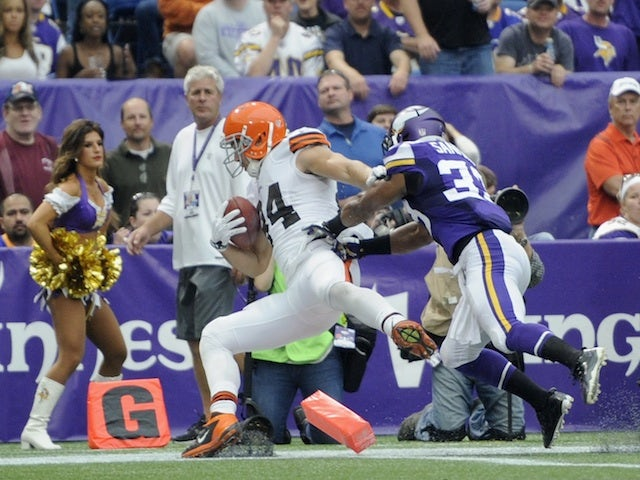 Result: Cleveland leave it late to beat Vikings