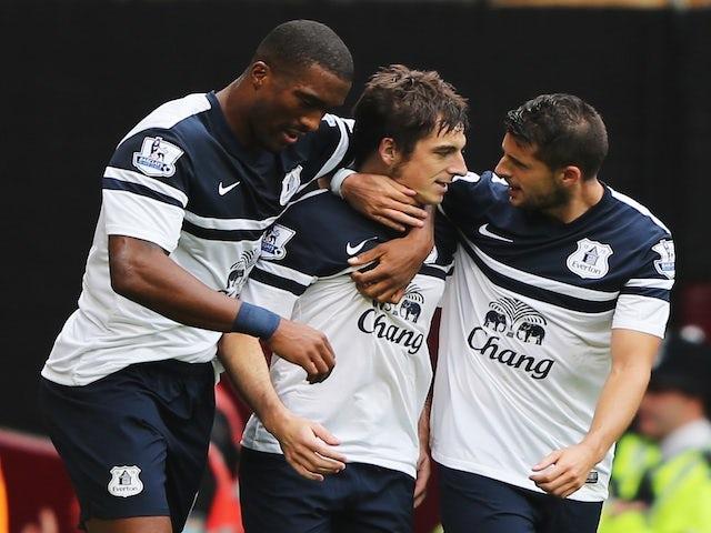 Result: Everton defeat West Ham in five-goal thriller