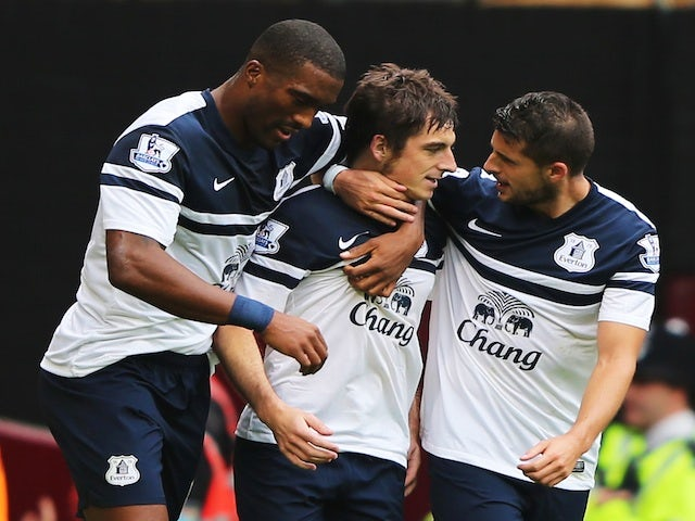 Result: Everton defeat West Ham in five-goal thriller