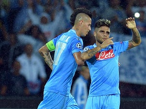 Napoli hit five past Sampdoria