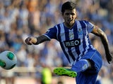 Porto's Lucho Gonzalez in action against Pacos Ferreira on September 1, 2013