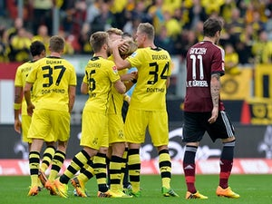 Live Commentary: Nuremberg 1-1 Borussia Dortmund - as it happened