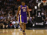 Los Angeles Lakers' Metta World Peace in action against San Antonio Spurs on April 21, 2013