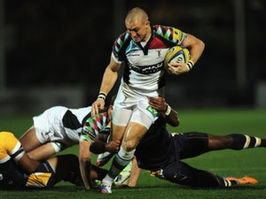 Harlequins ease to win over Worcester