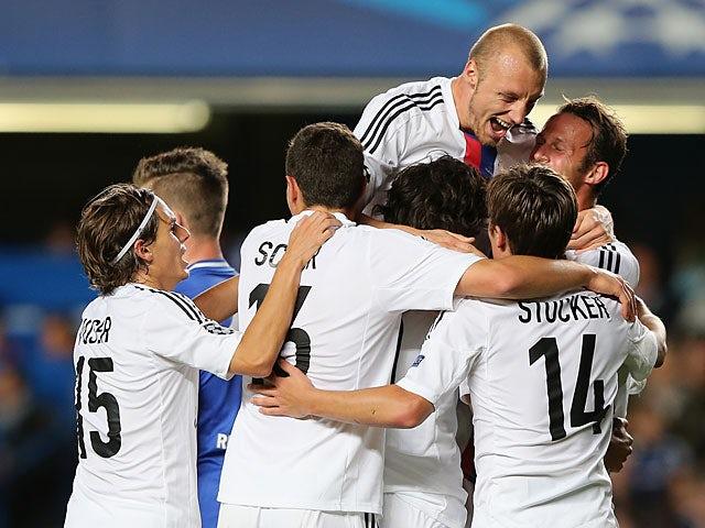 Result: Basel shock Chelsea