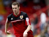 Stephen Pearson of Bristol in action during the npower Championship match between Bristol City and Blackburn Rovers at the Ashton Gate Stadium on September 15, 2012