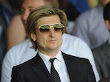 Crystal Palace Chairman Steve Parish during the npower Championship match between Crystal Palace and Peterborough United at Selhurst Park on May 04, 2013