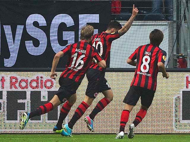 Result: Frankfurt cruise to APOEL win