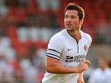 Charlton's Yann Kermorgant in action against Dagenham & Redbridge during a friendly match on July 23, 2013