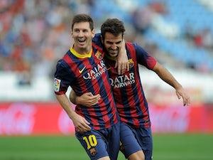 Messi back for Osasuna visit