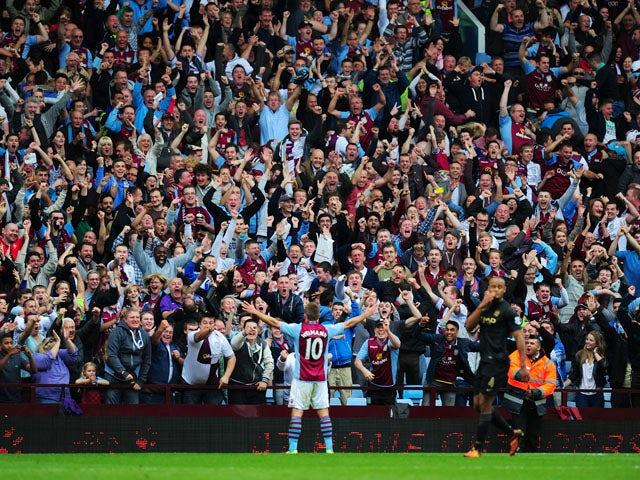 Result: Villa stun Man City