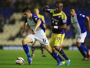 Half-Time Report: Lee Novak gives Birmingham City lead