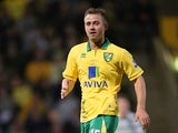 David Fox of Norwich City in action during the Adam Drury Testimonial Match between Norwich City and Celtic at Carrow Road on May 22, 2012