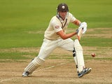 Surrey's Dominic Sibley in action against Yorkshire on September 25, 2013