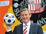 Chairman of Sunderland AFC, Ellis Short, during the launch of a pioneering partnership between Invest in Africa and Sunderland AFC at Stadium of Light on June 25, 2012