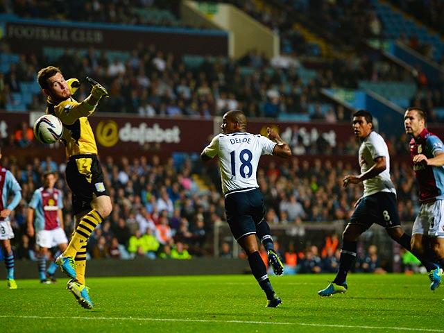 Result: Spurs thrash Villa