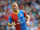 Kevin Phillips of Crystal Palace during a Pre Season Friendly between Crystal Palace and Lazio at Selhurst Park on August 10, 2013