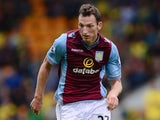 Libor Kozak of Aston Villa in action during the Barclays Premier League match between Norwich City and Aston Villa at Carrow Road on September 21, 2013