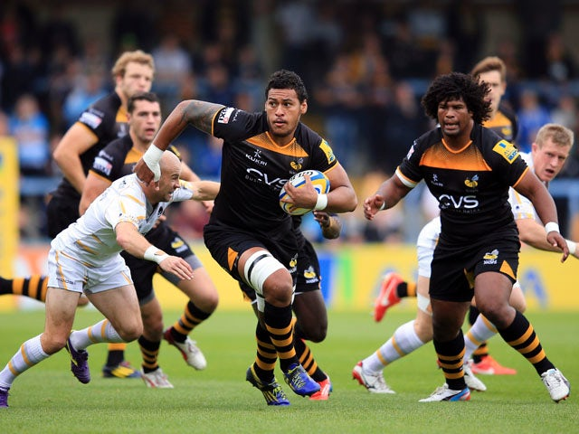 Result: Strong second half gives Wasps win
