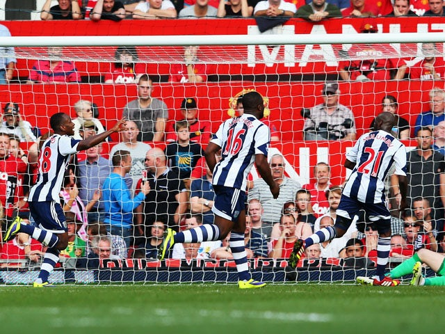 Result: West Brom stun Manchester United