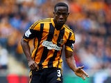 Maynor Figueroa of Hull City in action during the Barclays Premier League match between Hull City and Cardiff City at KC Stadium on September 14, 2013