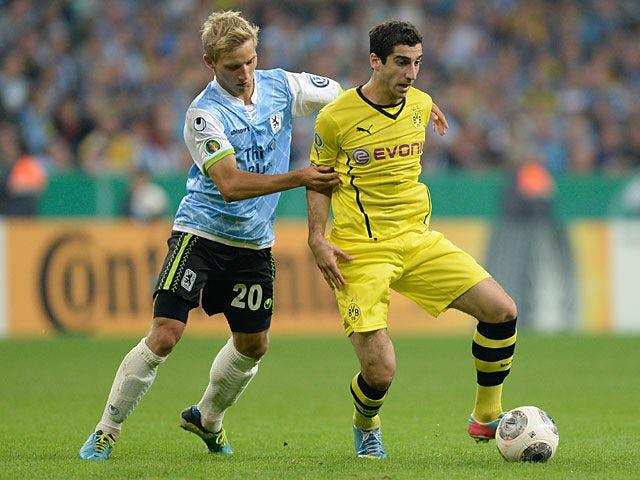 Result: Dortmund through to third round
